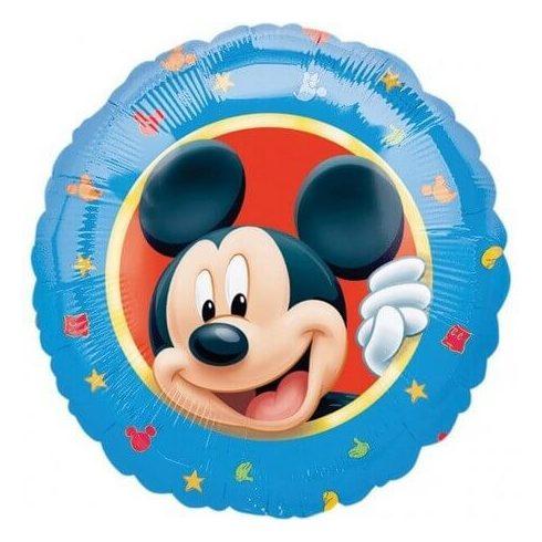 Disney Mickey fólia lufi kék 43cm