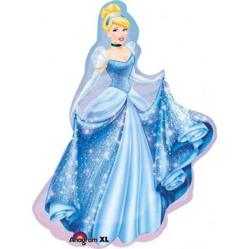 Disney Hercegnők fólia lufi Hamupipőke 84cm
