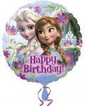 Disney Jégvarázs fólia lufi Happy Birthday 43cm