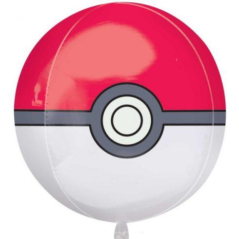 Pokémon gömb fólia lufi