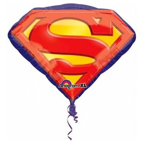 Superman fólia lufi 66cm