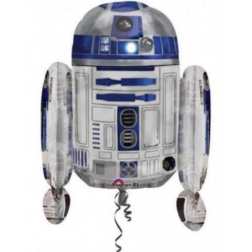 Star Wars fólia lufi R2D2 66cm