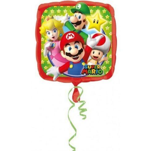 Super Mario fólia lufi 43cm