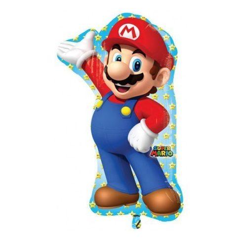 Super Mario fólia lufi 83cm