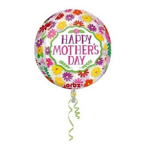 Boldog anyák napját gömb fólia lufi