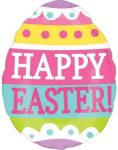 Easter, Húsvét Fólia lufi 40 cm