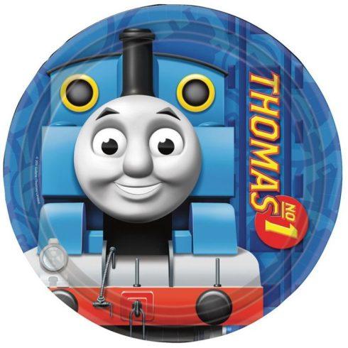 Thomas a gőzmozdony papírtányér 8 db-os 18cm