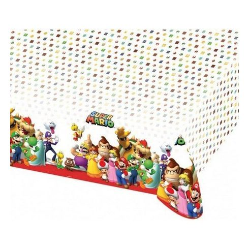 Super Mario asztalterítő 120x180cm