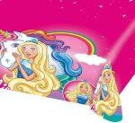 Barbie asztalterítő unikornis 120x180cm
