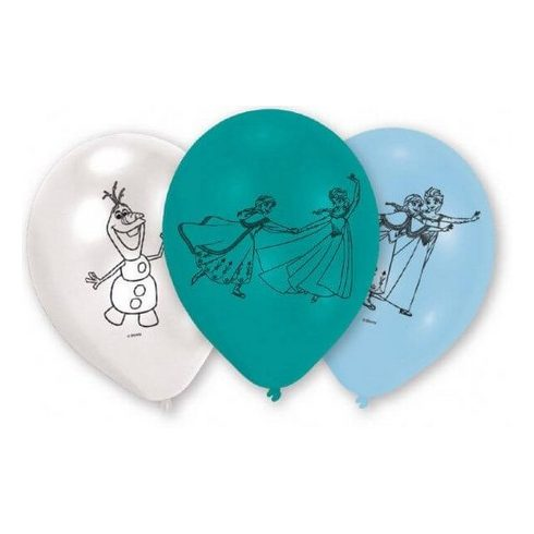 Disney Jégvarázs léggömb lufi rajz 6 db-os