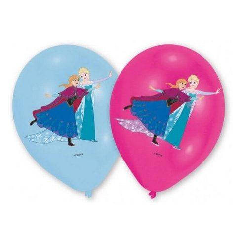 Disney Jégvarázs léggömb  lufi tánc 6 db-os