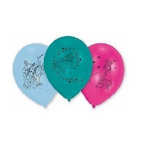 Disney Jégvarázs léggömb lufi  10 db-os