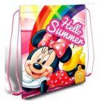 Disney Minnie egér tornazsák hello