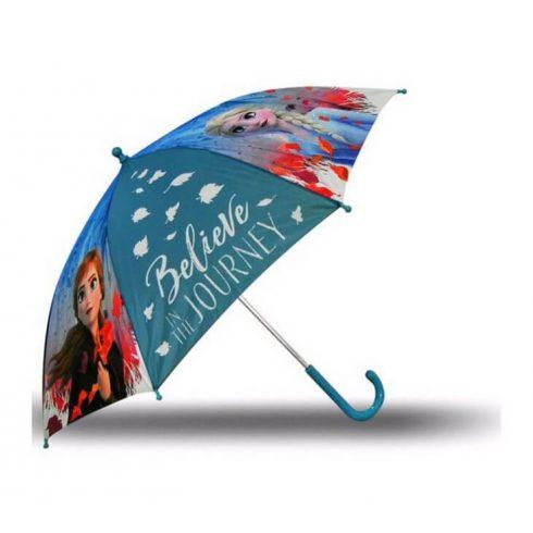 Disney Jégvarázs II gyerek esernyő kék