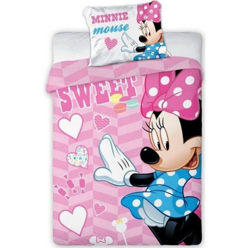 Disney Minnie ovis ágyneműhuzat sweet 100x135cm 40x60cm