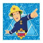 Sam a tűzoltó mágikus törölköző kéztörlő kék