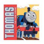 Thomas a gőzmozdony mágikus törölköző, kéztörlő 30*30cm