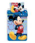 Disney Mickey ágyneműhuzat hello 140x200cm, 70x90cm