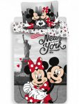Disney Minnie és Mickey ágyneműhuzat 140x200cm, 70x90cm