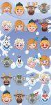 Disney Emoji törölköző fürdőlepedő világoskék
