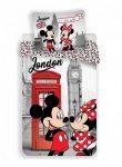 Disney Minnie egér és Mickey ágyneműhuzat London 140x200cm 70x90cm