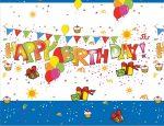 Happy Birthday asztalterítő 120x180cm