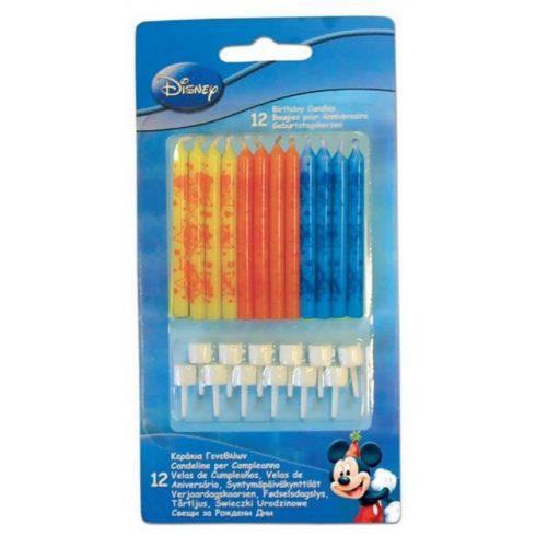 Disney Mickey tortagyertya gyertya szett 12 db-os