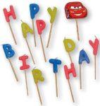 Disney Verdák, Cars Happy Birthday gyertya