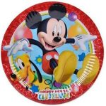 Disney Mickey  papírtányér 8 db-os 19,5 cm
