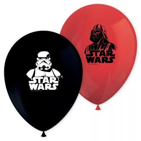 Star Wars léggömb lufi Dart Vader 8 db-os