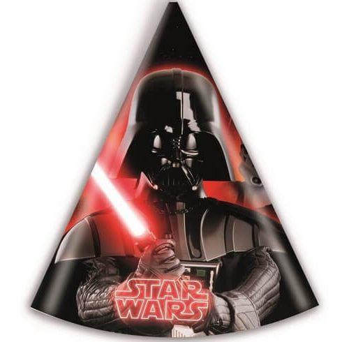 Star Wars party kalap csákó végjáték 6 db-os