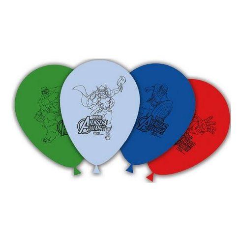 Bosszúállók léggömb lufi 8 db-os
