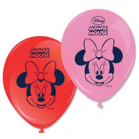 Disney Minnie léggömb lufi 8 db-os