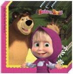 Masha és a Medve szalvéta 20 db-os
