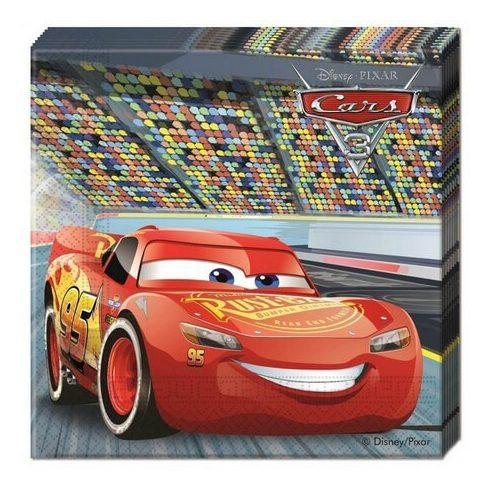 Disney Verdák szalvéta cars3 20 db-os