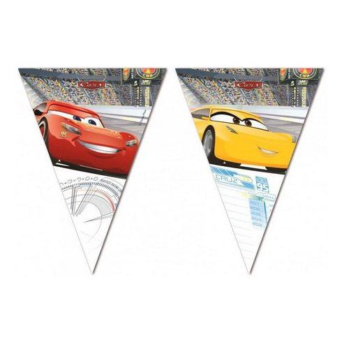 Disney Verdák zászlófüzér cars3