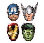 Avengers, Bosszúállók Maszk, álarc 6 db-os