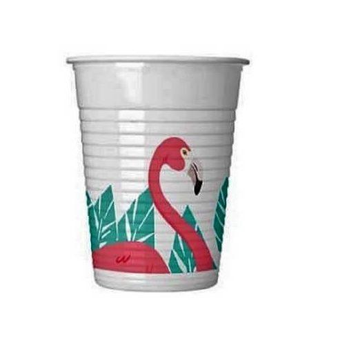 Flamingo party pohár 8 db-os 200ml