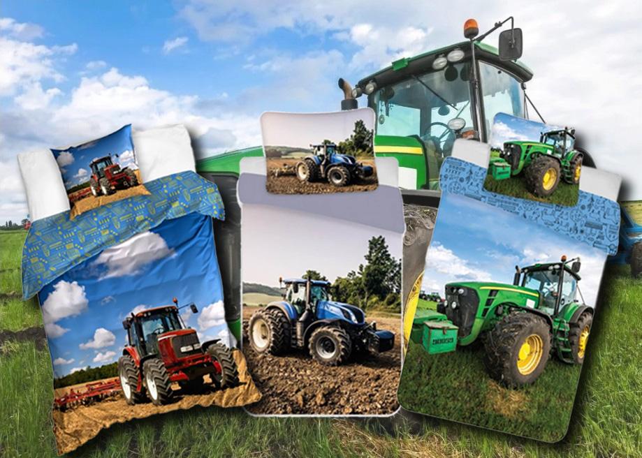 A traktormintás termékek ideálisak az oviba kisfiadnak!