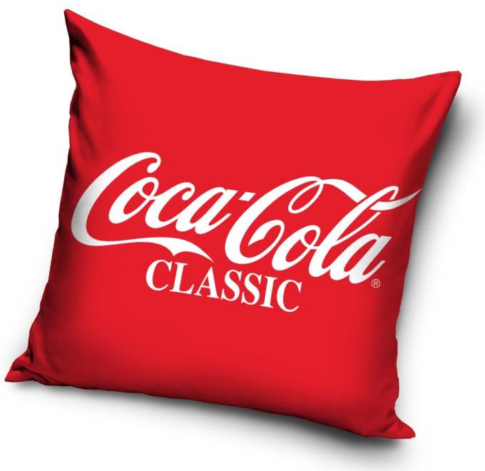 Coca-Cola classic párnahuzat 40x40cm