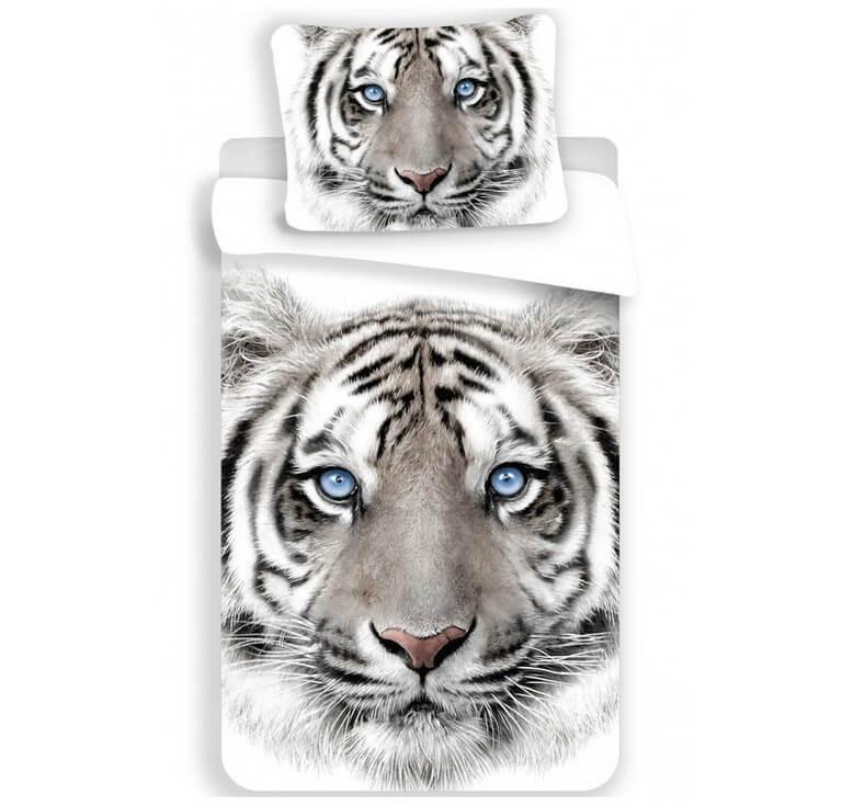 Tigris ágyneműhuzat fehér 140x200cm 70x90cm